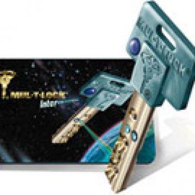 interactive klíč karta