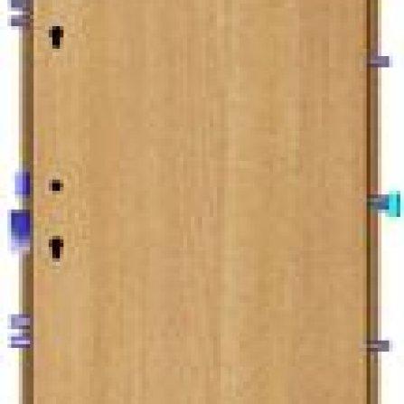 Bezpečnostní dveře BEDEX Vario EL VD 4 se zárubní MRB